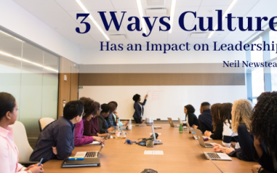 3 Ways Culture Has An Impact On Leadership